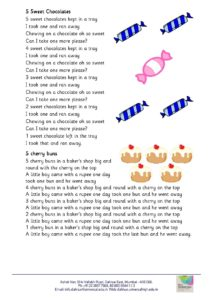 Nursery – Rhymes for the month of September , 2018